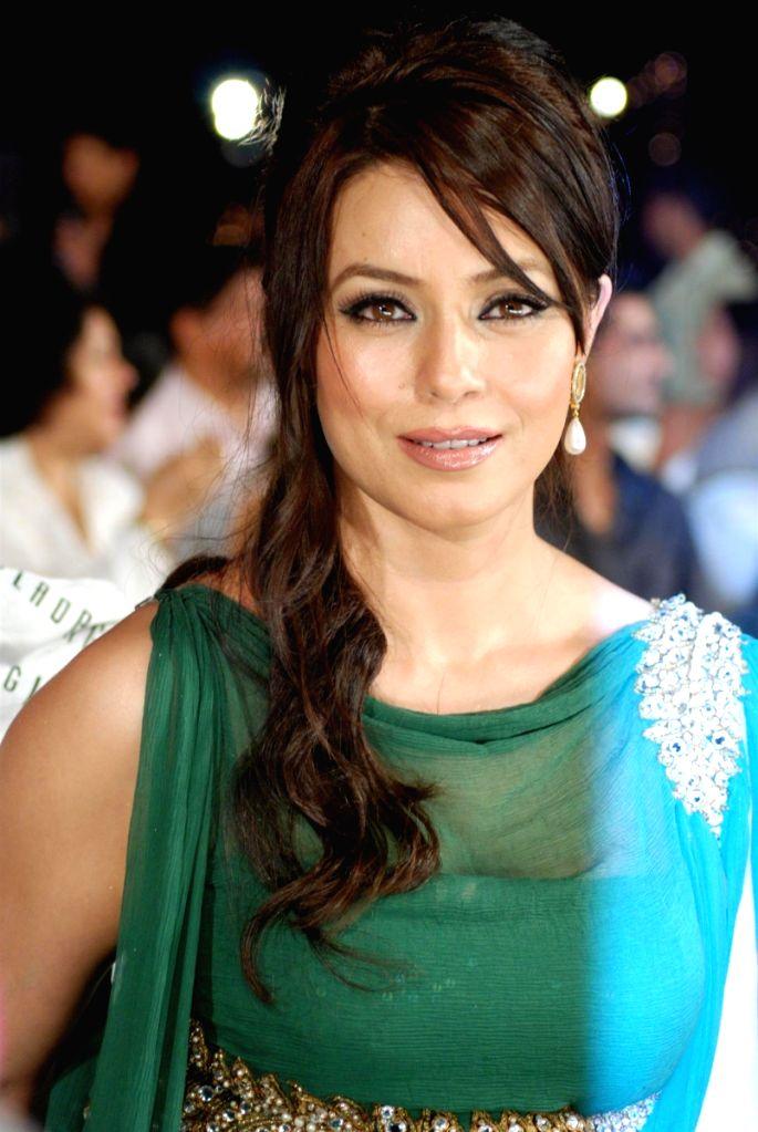 Bollywood actress Mahima Chowdhary at the Gladrags Mrs.India contest. - Mahima Chowdhary