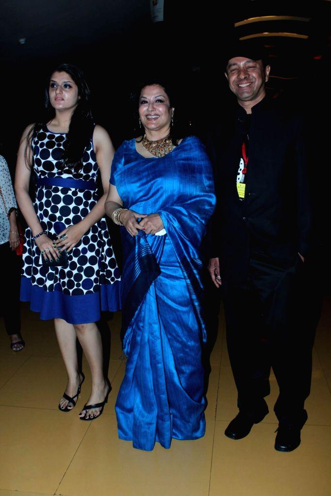 Bollywood actress Moushmi Chaterjee launches Kashish film festival at Cinemax in Mumbai. - Moushmi Chaterjee