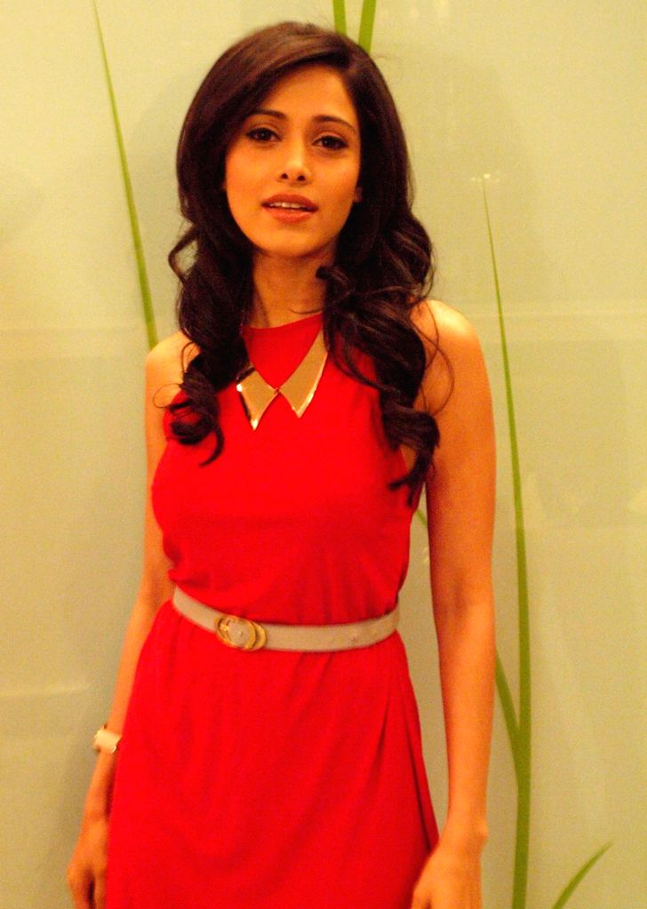 Bollywood actress Nushrat Bharucha,at a press meet for her film Akashwani, in New Delhi.(Photo:IANS/Amlan) - Nushrat Bharucha