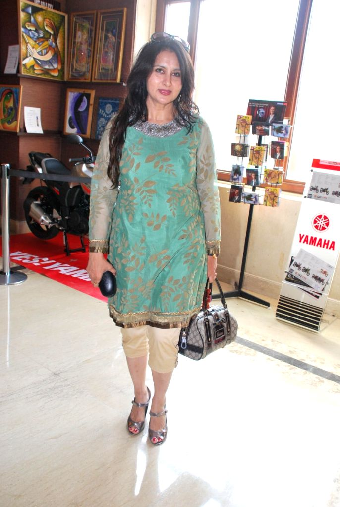 """Bollywood actress Poonam Dhillon at the premiere of """"Saaransh"""" that took place after the movie was released 25 years earlier. - Poonam Dhillon"""