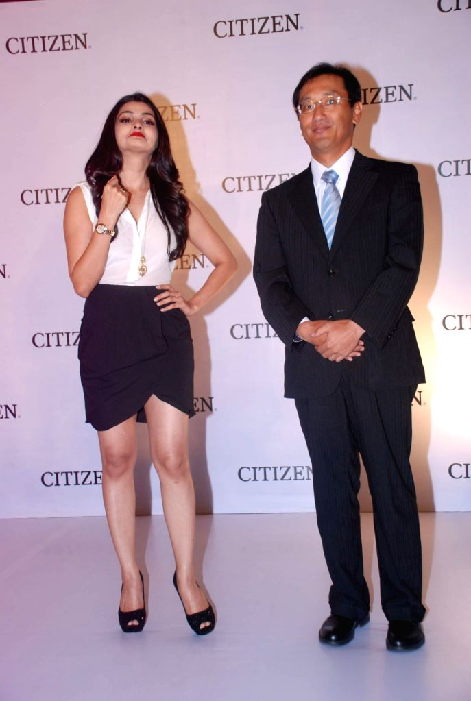 Bollywood actress Prachi Desai launches the Citizen L Diamond watches at ITC Parel in Mumbai.