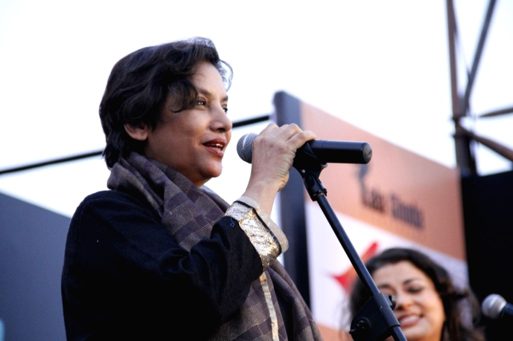 Bollywood actress Shabana Azmi at the The Kala Ghoda Arts Festival 2013 in Mumbai. - Shabana Azmi