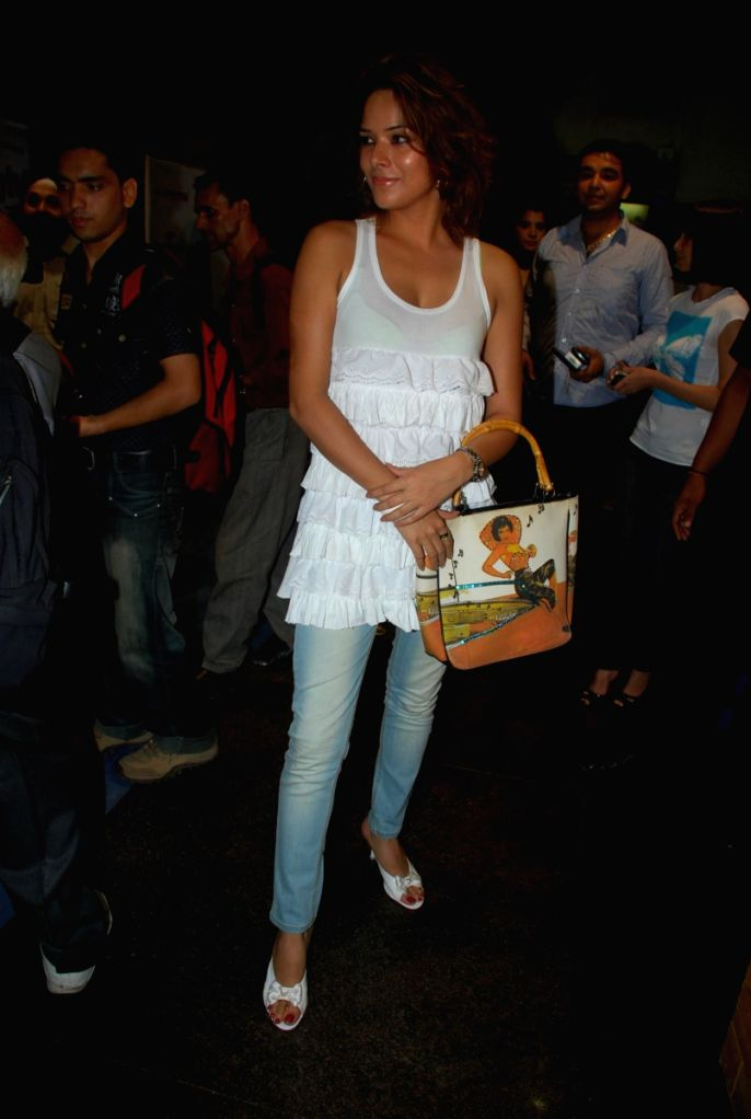 Bollywood actress Udita Goswami at the premiere of the flatest english film 'Fast & the Furious 4' at fame. - Udita Goswami