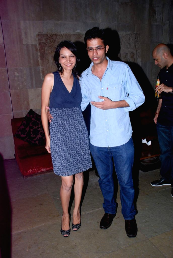 Bollywood celebrities at Love Wrinkle Free bash in Shiro, Mumbai.