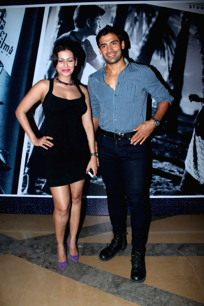 Bollywood celebrities at the premiere of film Awara at PVR.
