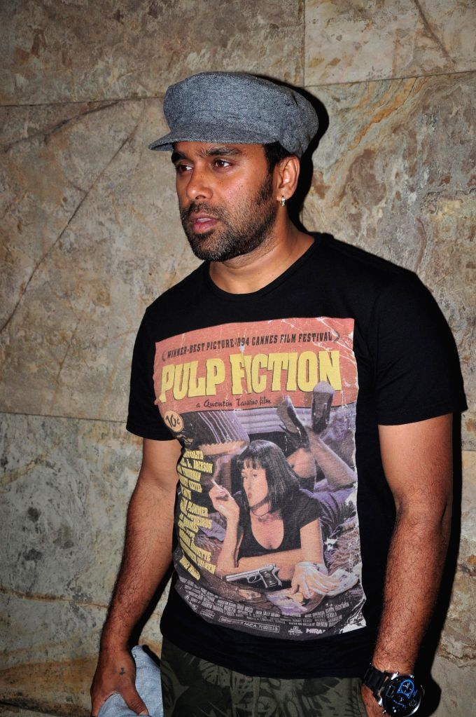 Bollywood choreographer Bosco Martis during the screening of film Bobby Jasoos in Mumbai on July 3, 2014.