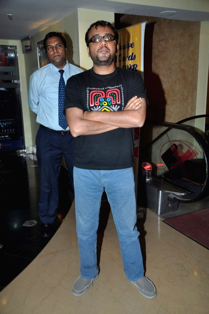 Bollywood director Dibakar Banerjee at `Shanghai` film promotional event in PVR Juhu, Mumbai. - Dibakar Banerjee