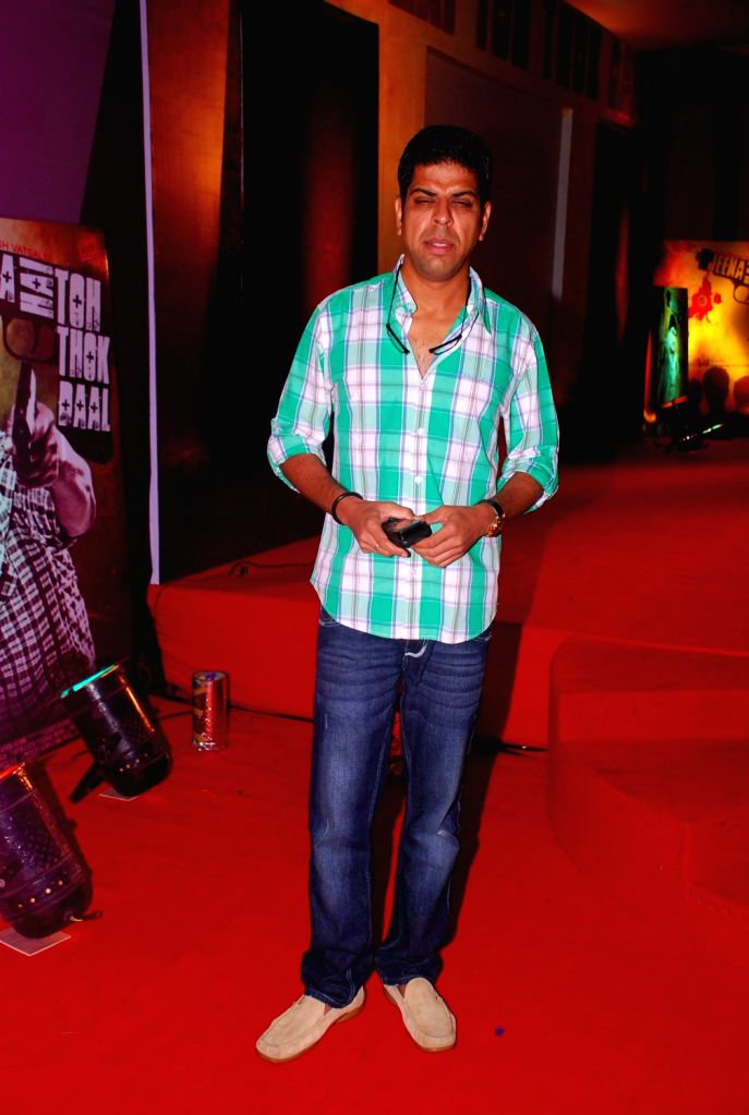 Bollywood film actor Murli Sharma at the first look of the film Jeena Hai toh Thok Daal - Murli Sharma