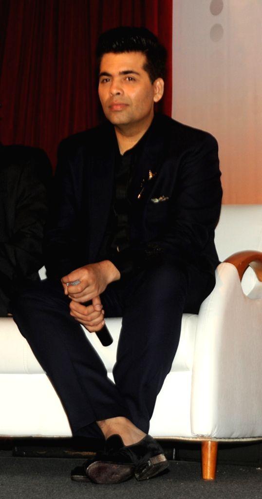 Bollywood film director and producer Karan Johar, during the launch of 'Talent Next' web site in Mumbai on July 11, 2016. - Karan Johar