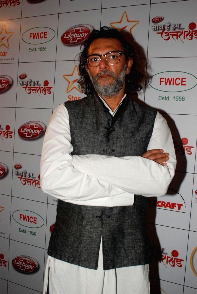 Bollywood filmmaker Rakesh Omprakash Mehra during the Star India`s `Saath Hain Hum Uttarakhand` 7-hour programme in Mumbai on August 15, 2013. (Photo::: IANS)