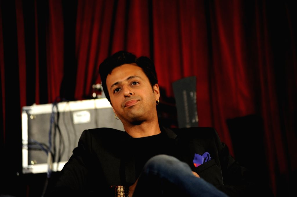 Bollywood  Music composer and singer Salim Merchant , during the launch of 'Talent Next' web site in Mumbai on July 11, 2016.