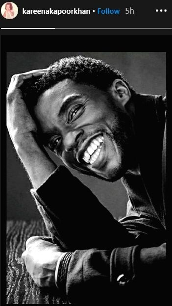 Bollywood pays tribute to 'Black Panther' star Chadwick Boseman.