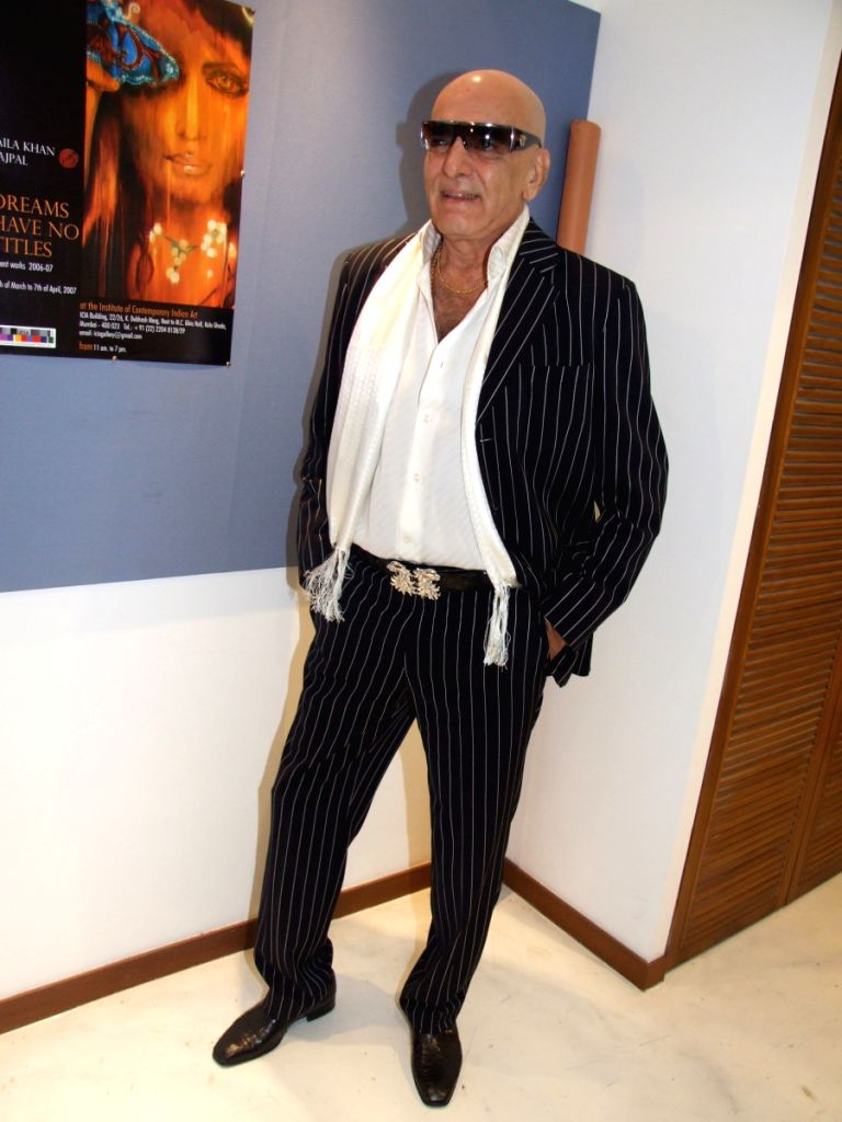 Bollywood's all time style icon Feroz Khan at a function.