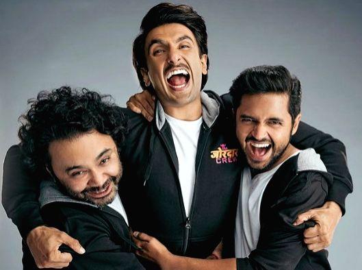 """Bollywood's livewire star Ranveer Singh has wrapped up the shooting for his next film titled """"Jayeshbhai Jordaar. - Ranveer Singh"""