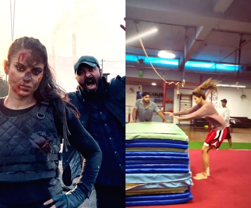 Bollywood's stunt queens gear up for next-level action.