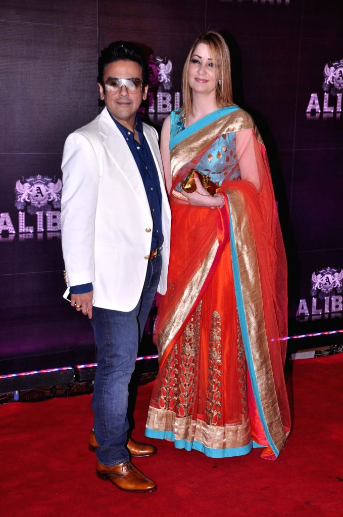 Bollywood  singer Adnan Sami during the celebration of Sridevi 50th birthday in Mumbai on August 17, 2013. Filmmaker Boney Kapoor has thrown a lavish party to celebrate his Bollywood actress wife ... - Boney Kapoor and Adnan Sami