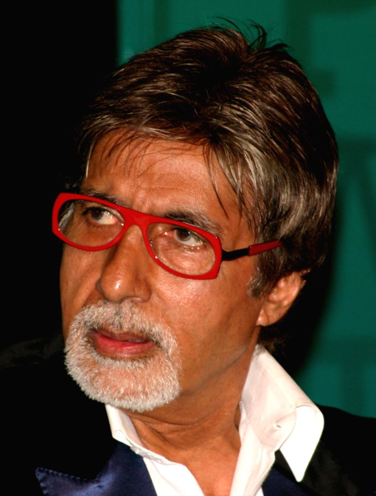 "Bollywood star Amitabh Bachchan at the release of 20th Hindi edition of ""Limca Book of Records"" at IHC, in New Delhi on Tuesday 31 March 2008."