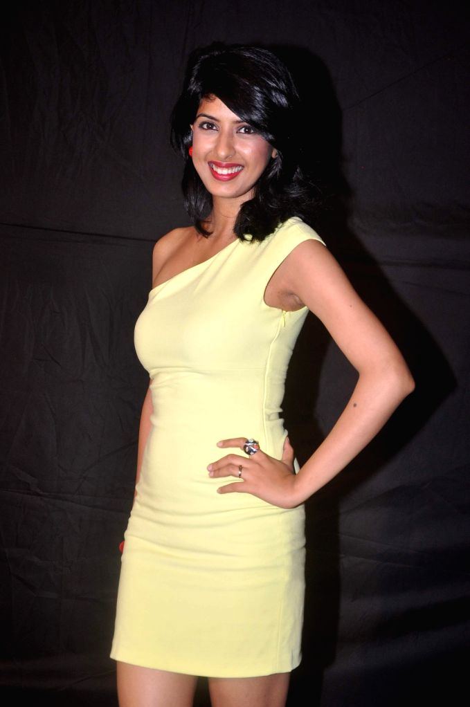 Bollywood star at Indian Telly Awards in Mumbai.
