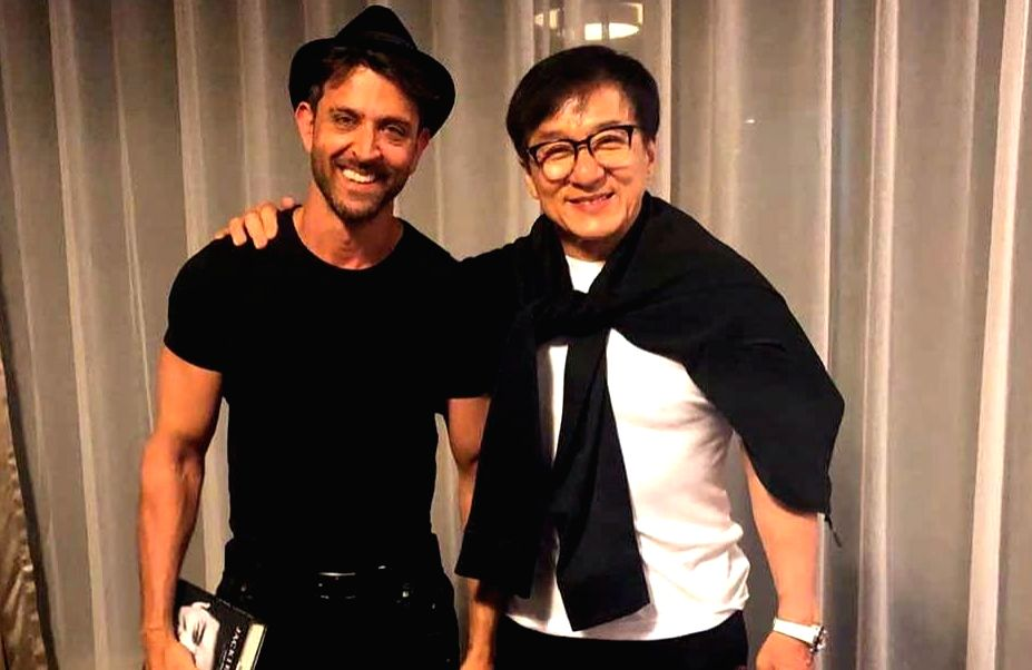 """Bollywood star Hrithik Roshan had an incredible experience meeting international cinema icon Jackie Chan in China, where he said that his soon to release film """"Super 30"""" is about the ... - Hrithik Roshan"""
