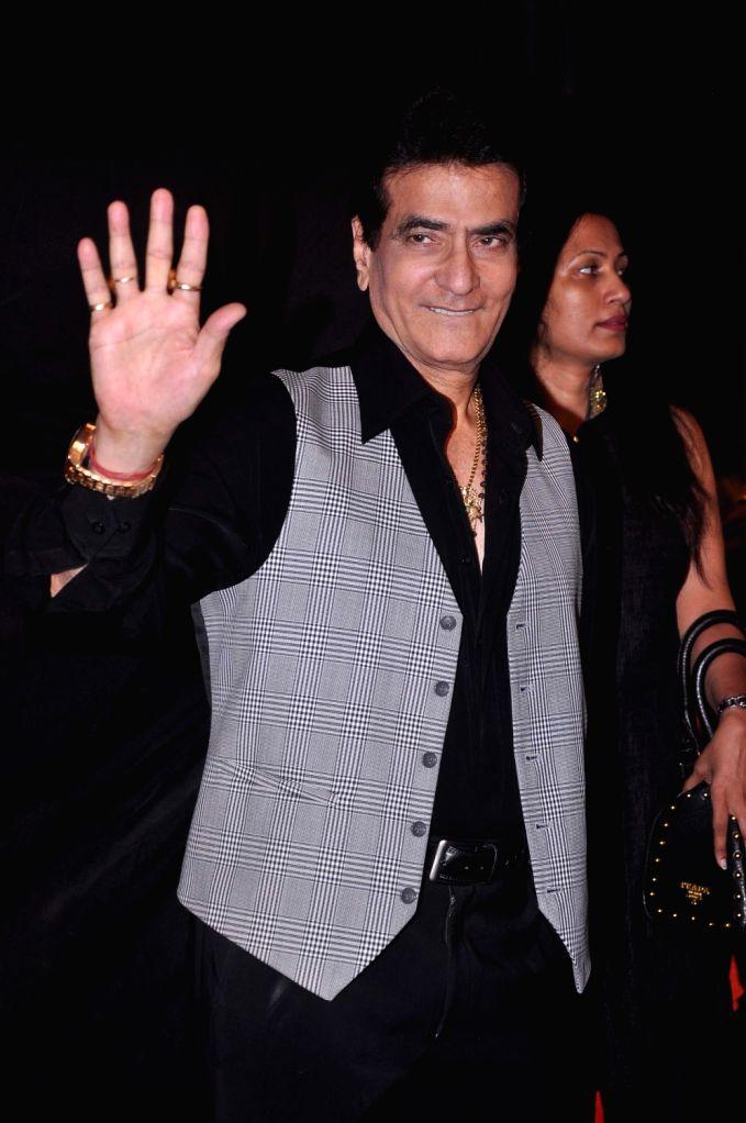 Bollywood star Jitender Kapoor at Indian Telly Awards in Mumbai. - Jitender Kapoor