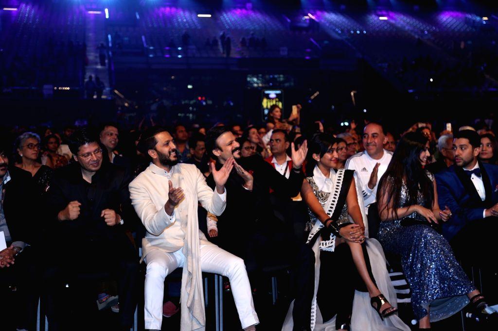 Bollywood Stars during Videocon d2h IIFA Rocks 2016 in Madrid on June 24, 2016.