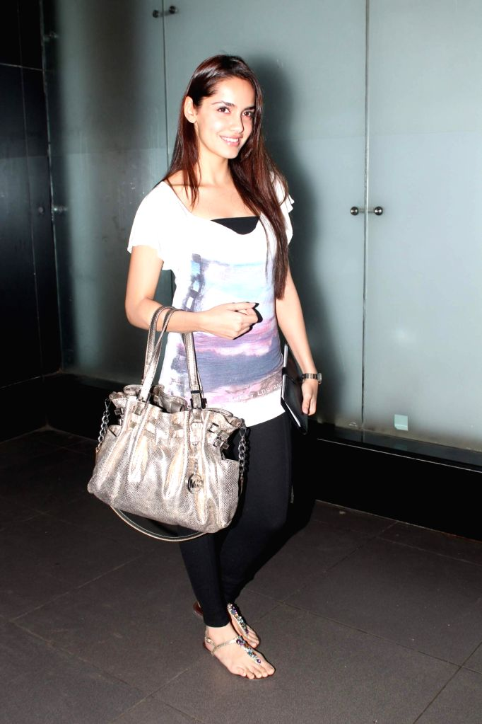Bollywood stars leave for 13th IIFA awards to Singapore at International Airport.