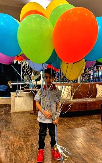 "Bollywood superstar Salman Khan's nephew turned four on Monday and the ""Khan-daan"" celebrated it with full pomp at home amid quarantine. Ahil is the son of Salman's younger sister Arpita ... - Ayush Sharma and Salman Khan"