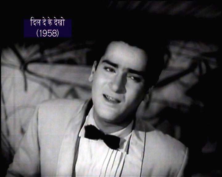 Bollywood superstar Shammi Kapoor in his heyday - Shammi Kapoor