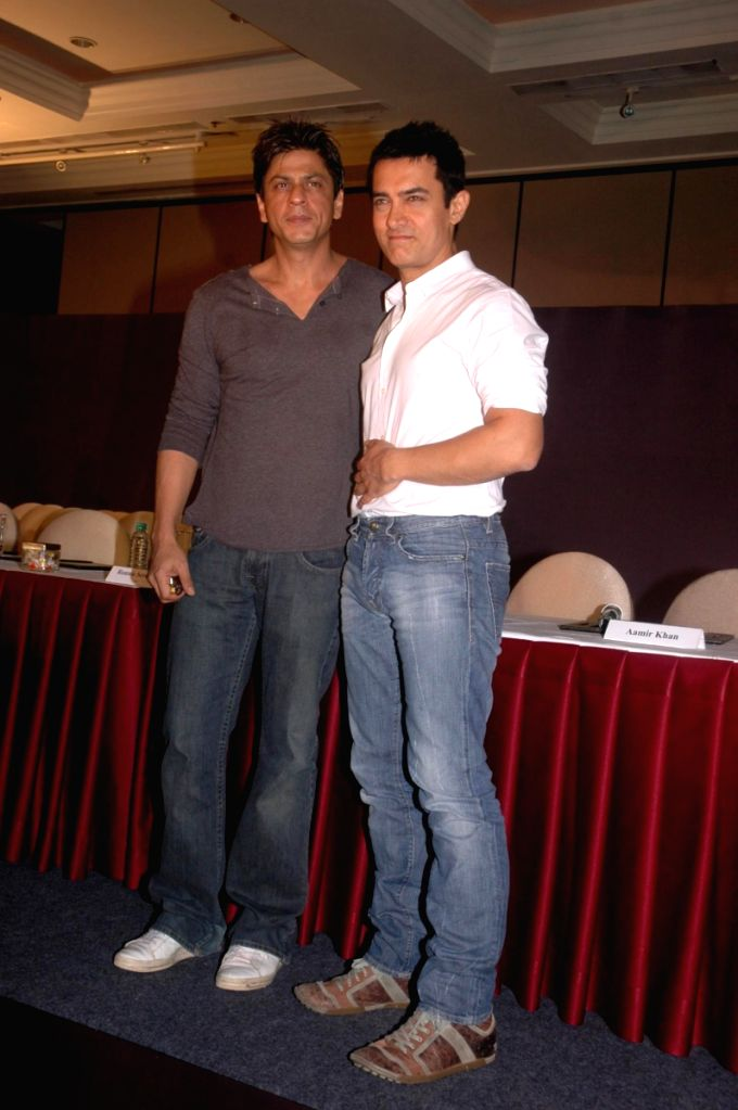 Bollywood superstars Shah Rukh Khan and Aamir Khan join hands for 'Fair Rights for Friday Nights