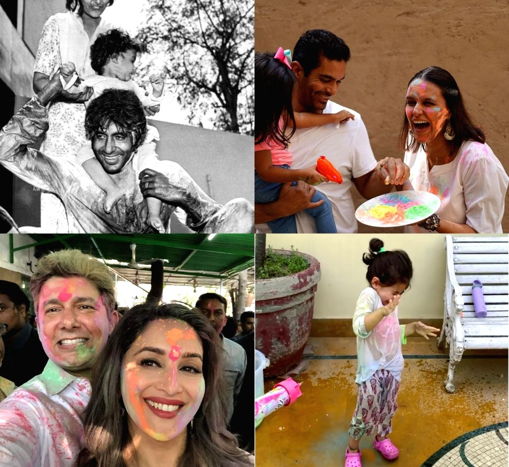 Bollywood wishes happy holi