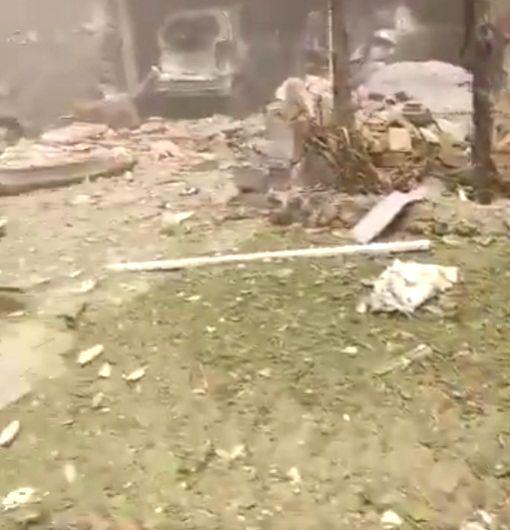 Bomb blast near Hafiz Saeed's house in Lahore kills 2.(photo:Twitter Screen grab)