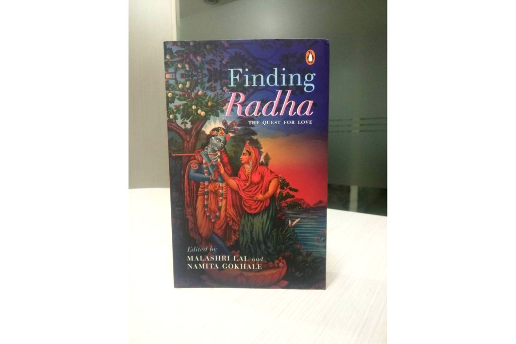 "Book cover: ""Finding Radha: The Quest for Love"""