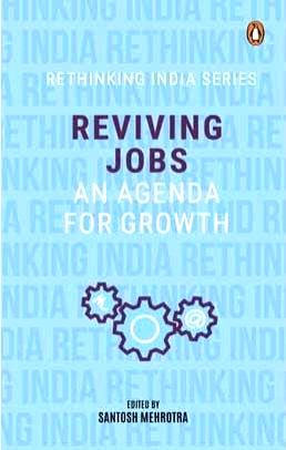Book cover of 'Reviving Jobs: An Agenda for Growth'.