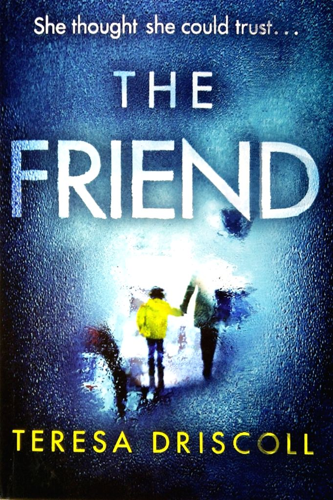 """Book cover of """"The Friend"""" authored by Teresa Driscoll."""