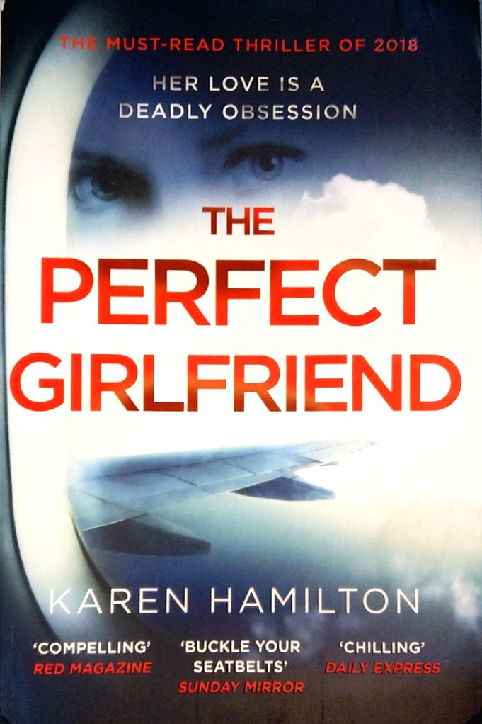 """Book cover of """"The Perfect Girl"""" authored by Karen Hamilton."""