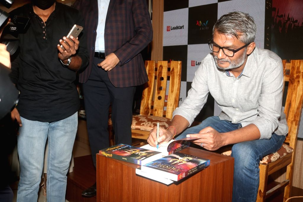 Book Launch Of TWO  Authors Satyam Srivastava Along With The Guest Of Honour Nitesh Tiwari on 13 october,2021.