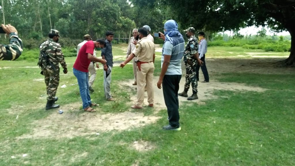 Border tension between India and Nepal.