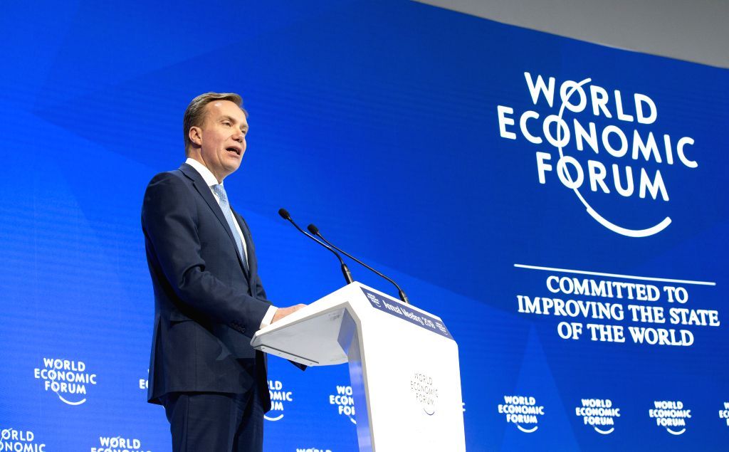 Borge Brende, the president of the World Economic Forum (WEF)