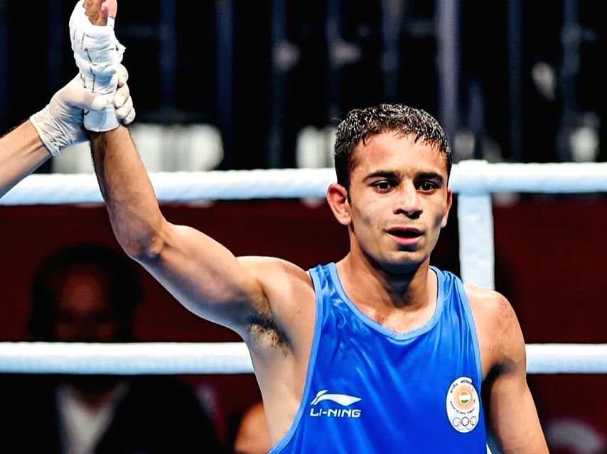 Boxer Amit Panghal. (File Photo: IANS)