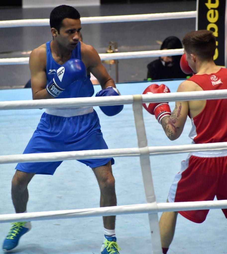 boxer Deepak.