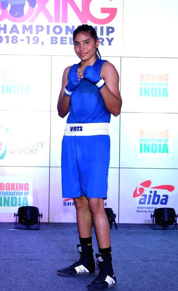 Boxer Manju Rani.