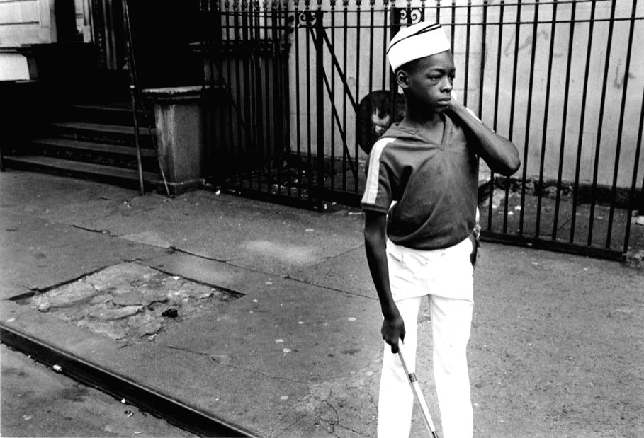 Boy from Marching Band, Harlem, 1977