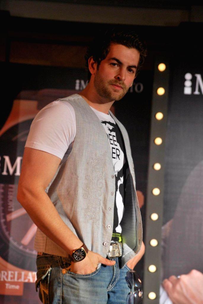 Brand Ambassador of Morellato Watch's Neil Nitin Mukesh at Taj Land's End, in Mumbai.