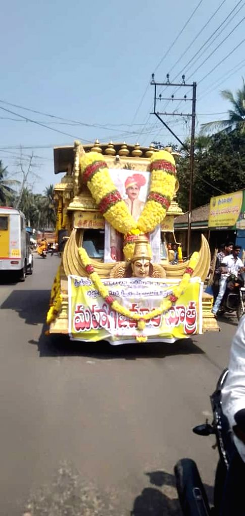 Brand new chariot at Antarvedi,Andhra Pradesh