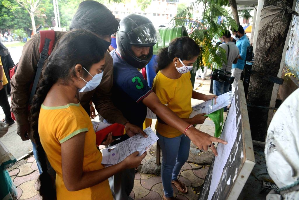 Braving the scorching sun, 1.2 lakh students in Andhra Pradesh and Telangana wrote the National Eligibility-cum-Entrance Test (NEET). The National Testing Agency (NTA) is conducting the ...