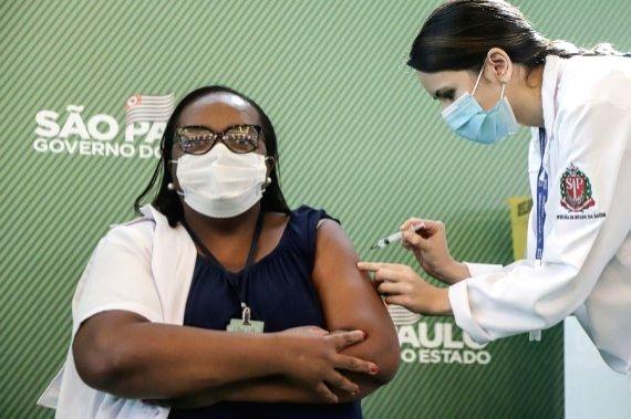 Brazil launches mass Covid-19 vaccination campaign