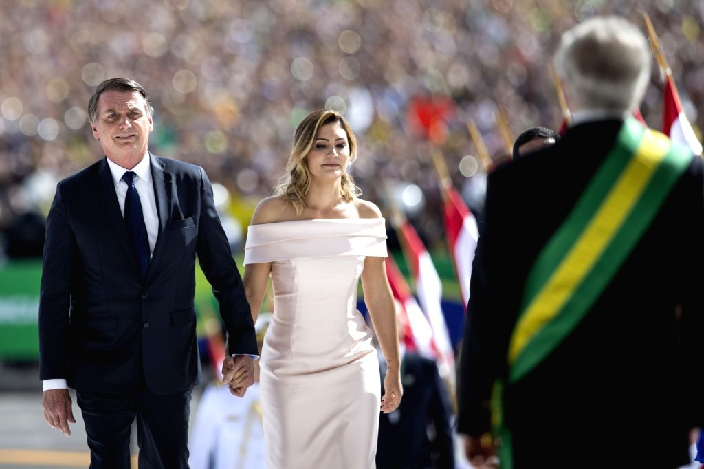 Brazil's first lady, science minister test positive for COVID-19