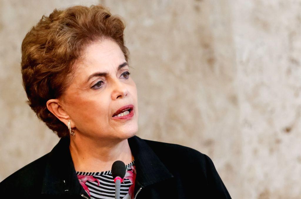 Brazil`s suspended president Dilma Rousseff. (File Photo: Xinhua/IANS)