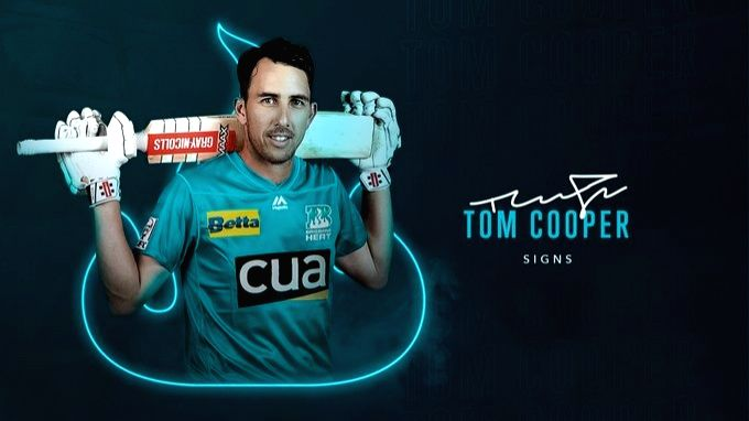 Brisbane Heat sign Tom Cooper for next two editions.