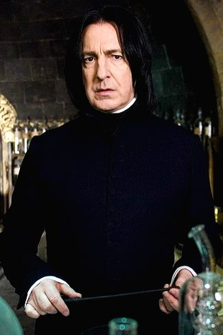 British actor Alan Rickman, most known as for his role as Prof. Snape in the Harry Potter series